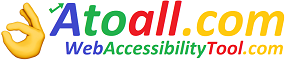 Web accessibility tool to all disabled and regional